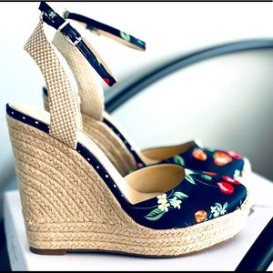Jessica Simpson Wedge Espadrilles